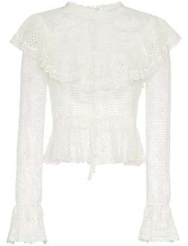 Castile Crochet Motif Top by Zimmermann