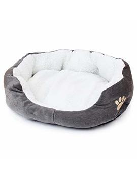 Hecentur Pet Dog Warm Bed Puppy Cat Soft Fleece House Plush Cozy Nest Mat Pad by Hecentur