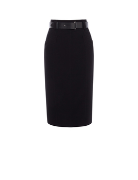 Leather Belt Pencil Skirt by Sc009 Sc067 Sd023 Sd026 Jc052 Dc123 Dc166