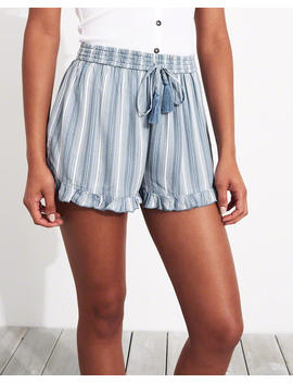 Ruffle Hem Shorts by Hollister