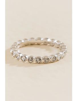 Lea Infinity Bezel Ring by Francesca's