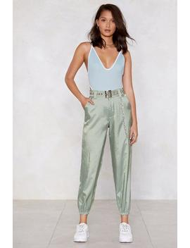 You Need To Chain Ge Cargo Pants by Nasty Gal