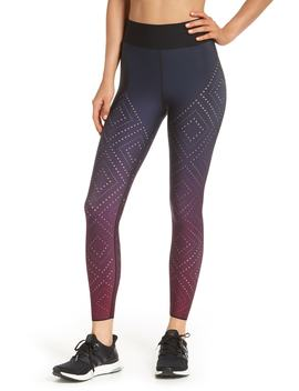 Sprinter High Argyle Pixelate Leggings by Ultracor