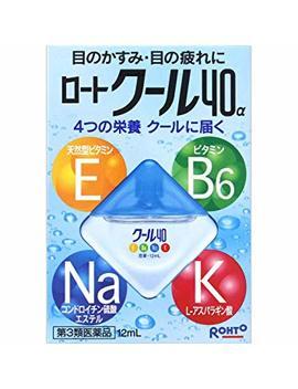 Rohto Cool 40a Eyedrops 12ml  (Japan Import) by Amazon