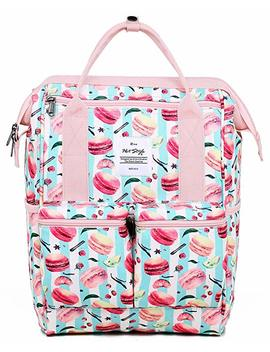 Disa Chic Doctor Bag Style College School Travel Backpack   Fits 13 Inch Laptop by Hotstyle