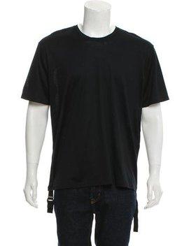Balenciaga Short Sleeve Draped T Shirt W/ Tags by Balenciaga