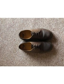 Mens Original Dr Martens Shoes Size 10 Brown Leather Air Wair by Ebay Seller