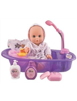 "Liberty Imports Little Baby 13"" Bathtime Doll Bath Set For Kids by Liberty Imports"