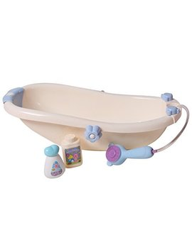 "Baby Whitney 16"" Bathtub & Baby Doll Essentials Accessory Set, White by Baby Whitney"