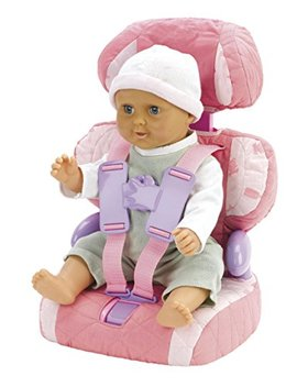 Casdon Baby Huggles Doll Car Booster Seat   Bring Your Favorite Friend For A Ride! by Casdon Baby Huggles