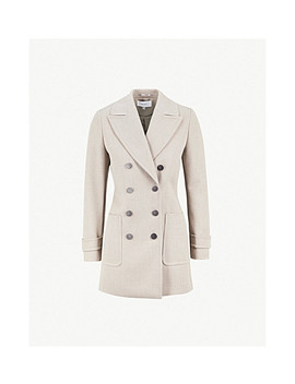 Luella Double Breasted Wool Coat by Reiss