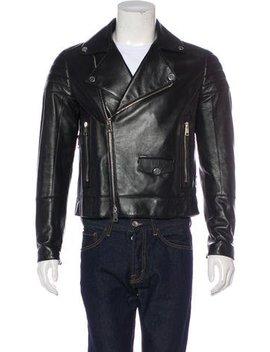 Valentino Lambskin Moto Jacket by Valentino
