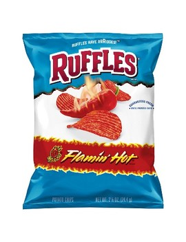 Ruffles Flamin Hot Potato Chips   2.6oz by Shop All Ruffles