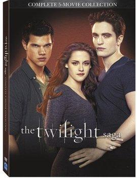 The Twilight Saga: Complete 5 Movie Collection [Import] by Kristen Stewart