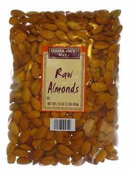 Trader Joe's Raw Almonds, 1 Lb (4   Pack) by Amazon