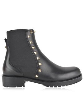 Rockstud Chelsea Boots by Valentino