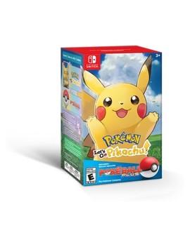 Pokemon: Let's Go Pikachu! Poke Ball Plus Bundle   Nintendo Switch by Shop All Nintendo