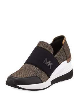 Felix Logo Slip On Trainer Sneakers by Michael Michael Kors