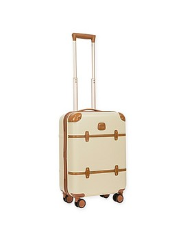Bric's Bellagio 2.0 21 Inch 4 Wheel Carry On Spinner Trunk In Cream by Bed Bath And Beyond