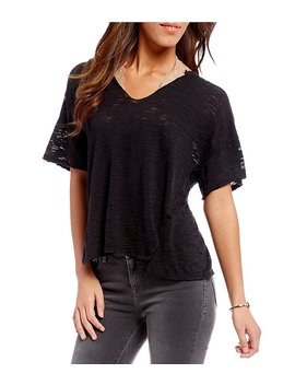 Maddie Knit Tee Shirt by Generic