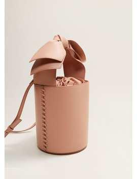 Bow Bucket Bag by Mango
