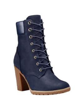 Timberland Women's Glancy 6 Inch Navy Nubuck Boots Style A14 H1 by Ebay Seller