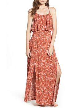 Bellevue Ruffle Maxi Dress by Lira Clothing