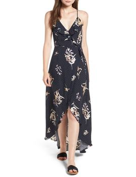 Catalina Maxi Wrap Dress by Lost + Wander
