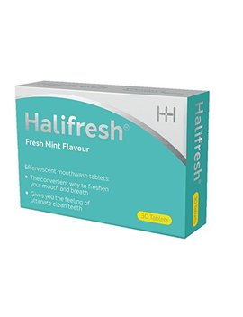 Halifresh Mouthwash Tablets   3 In 1 Action : Hydrates, Soothes And Targets Bad Breath (30 Tablets) by Halewood Health