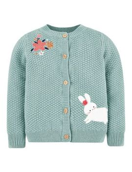 Mini Club Green Cardigan by Mini Club
