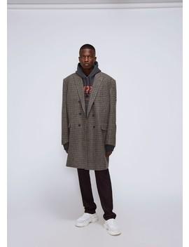 Double Breasted Coat by Balenciaga