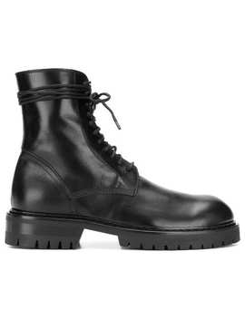 Ann Demeulemeesterlace Up Ankle Bootshome Men Ann Demeulemeester Shoes Boots by Ann Demeulemeester