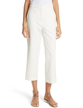 Anson Stretch High Waist Ankle Pants by Tibi