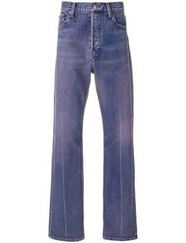 Balenciaga Regular Jeanshome Men Balenciaga Clothing Regular & Straight Leg Jeans by Balenciaga