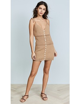 Sita Cotton Crochet Mini Dress by She Made Me