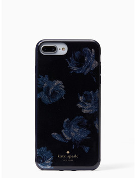 Night Rose Glitter I Phone 7 & 8 Plus Case by Kate Spade