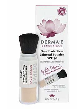 Derma E Sun Protection Mineral Powder Spf 30, 0.14 Ounce by Derma E