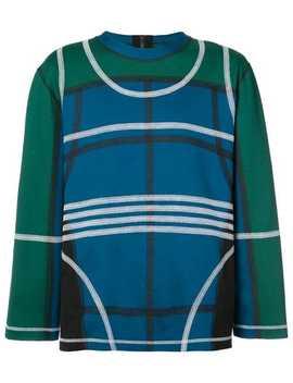 Craig Greencolour Block Sweaterhome Men Craig Green Clothing Knitted Sweaterspleated Straight Leg Trouserscolour Block Sweater by Craig Green