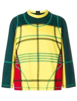Craig Greenmulti Check Print Sweatshirthome Men Craig Green Clothing Sweatshirts by Craig Green