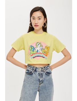 My Little Pony Crop T Shirt by Topshop
