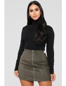 Benson Turtle Neck Sweater   Black by Fashion Nova