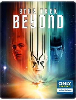 Ay/Dvd] [Steel Book] [Only @ Best Buy] [2016] by Star Trek Beyond [Includes Digital Copy] [Bl