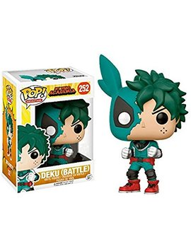 Funko Pop! Animation My Hero Academia Deku #252 (Battle) by Fun Ko
