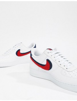Nike Air Force 1 '07 Trainers In White 823511 106 by Nike