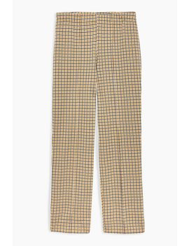 **Harry Check Seam Detail Trousers By Nobody's Child by Topshop