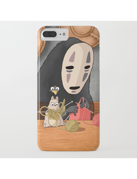 Spirited Away   Boh And No Face Knitting I Phone Case by