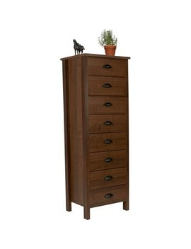 Nouvelle 8 Drawer Lingerie Bureau, Walnut by Venture Horizon