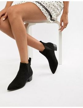 Miss Selfridge Suede Ankle Boot by Miss Selfridge