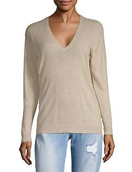 Kansas Raye Deluxe Cashmere Sweater by Zadig & Voltaire