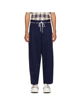 Blue Florider Trousers by Goodfight